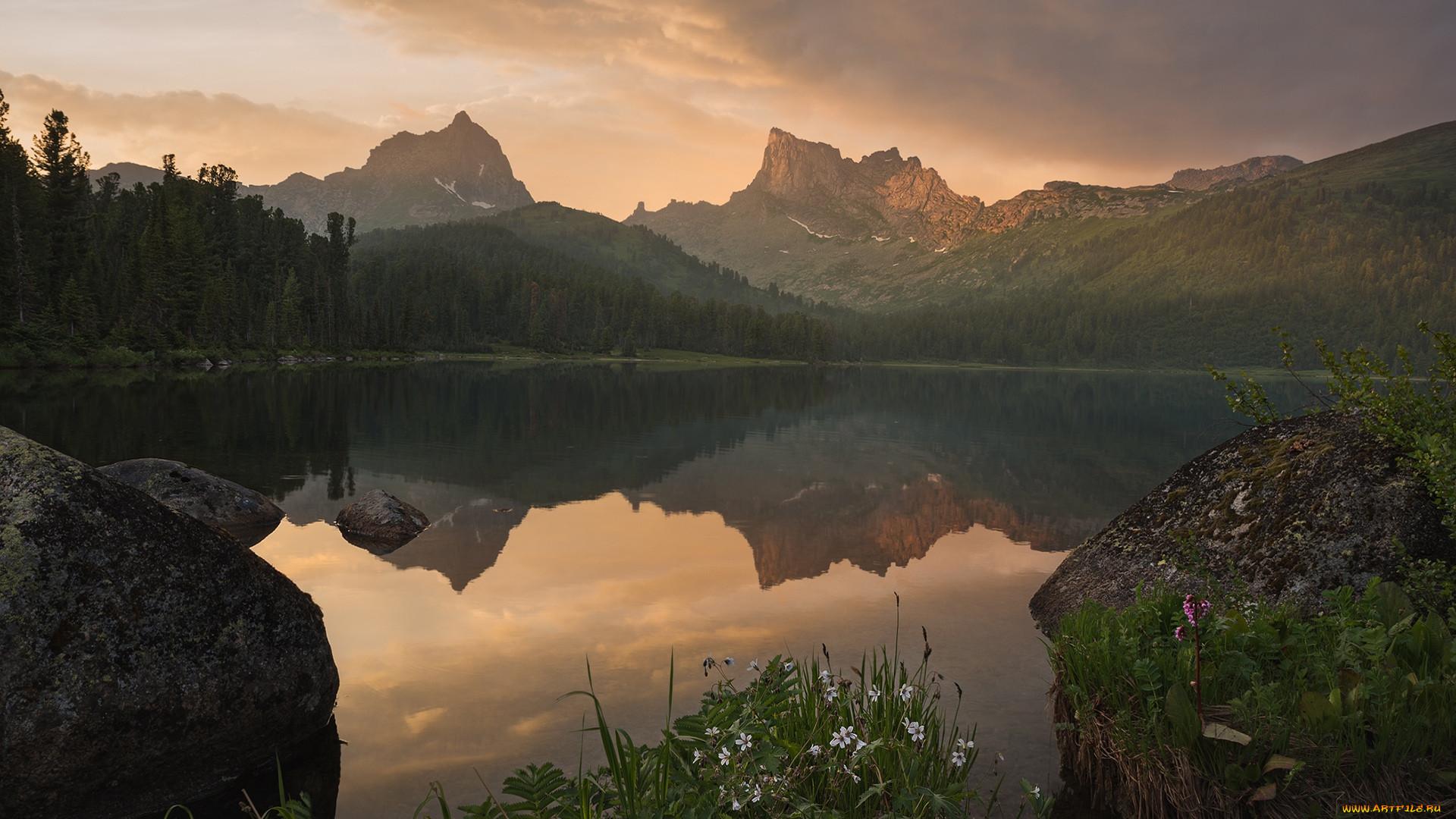 природа, пейзажи, красноярский, край, природный, парк, ергаки